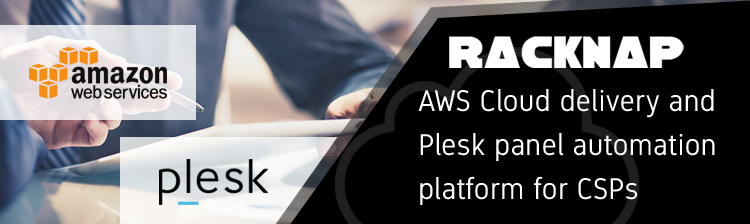 AWS Cloud provisioning, delivery and Plesk panel automation platform for cloud service providers