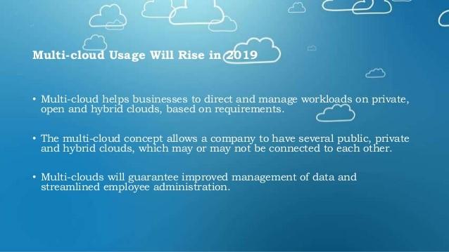 multi-cloud usage